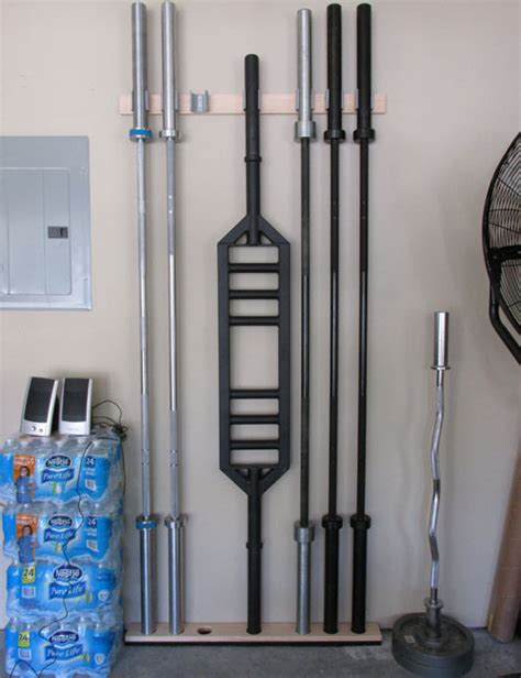 Barbell Storage Diy Ideas
